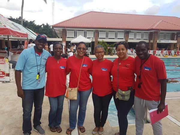 Haiti Swim Team