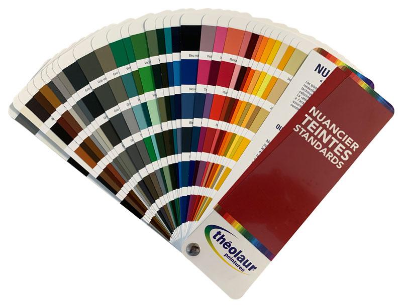 nuancier de couleur ral pour teinter les peintures
