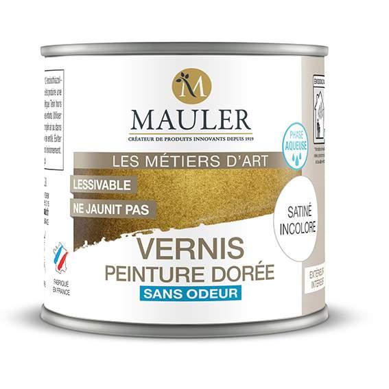 vernis de protection pour peinture metallique mauler 0 5l interieur et exterieur sans odeur