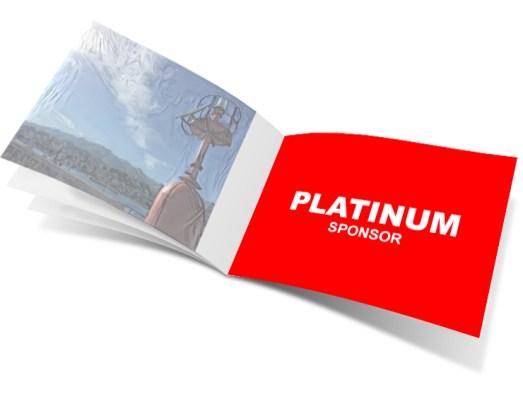 sponsor PLATINUM - Elaborato a colori 3° copertina del Catalogo