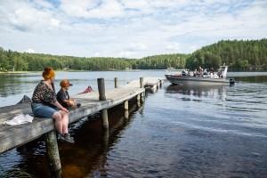 Metsähallitus kunnostaa Saimaan luontokohteiden rakenteita