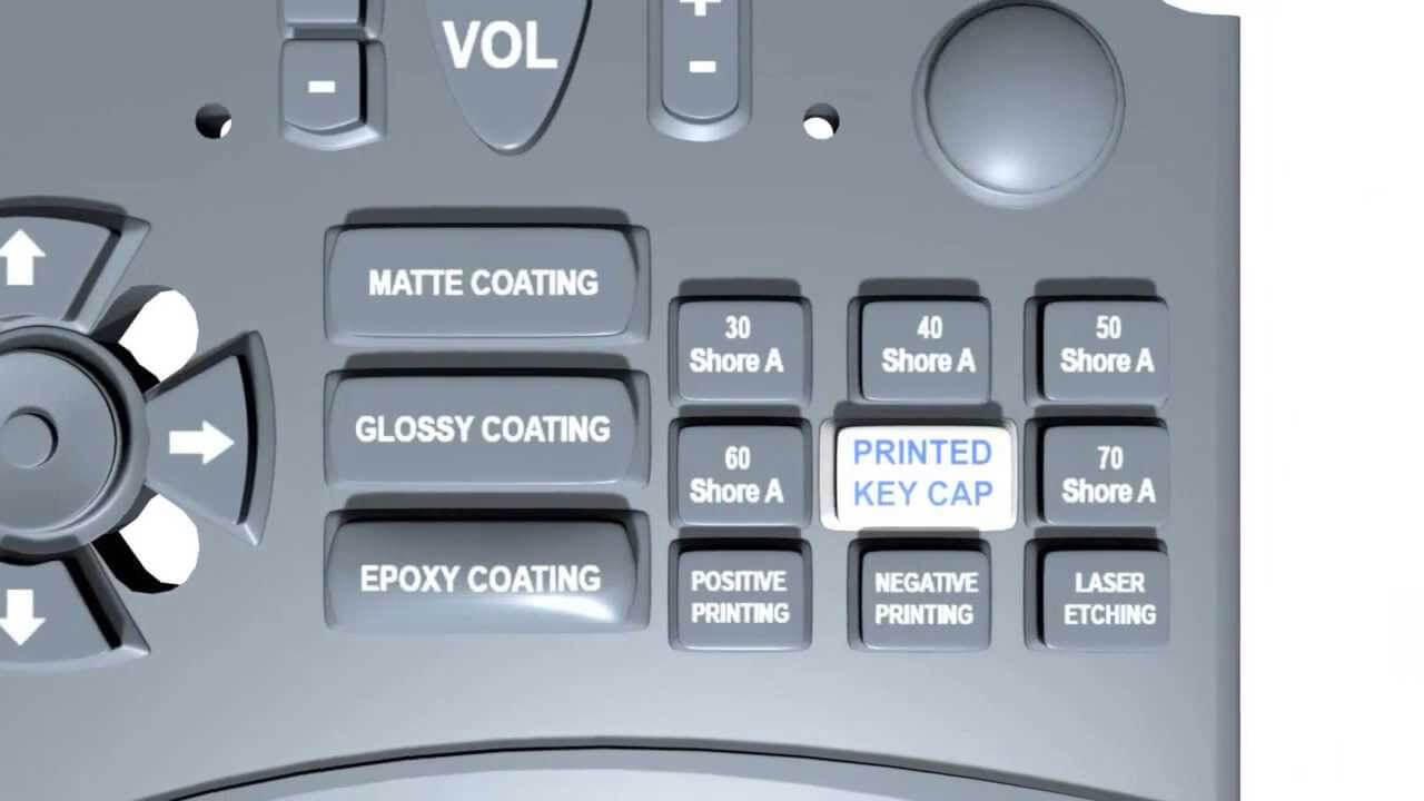 What is the design process of custom rubber keypads? (Rubber vs membrane Keypad)