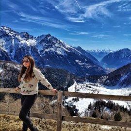 trenino rosso del Bernina: Alp Grum