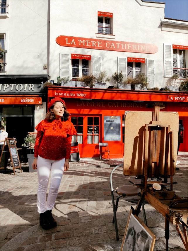Place du Tertre, Montmartre, Parigi