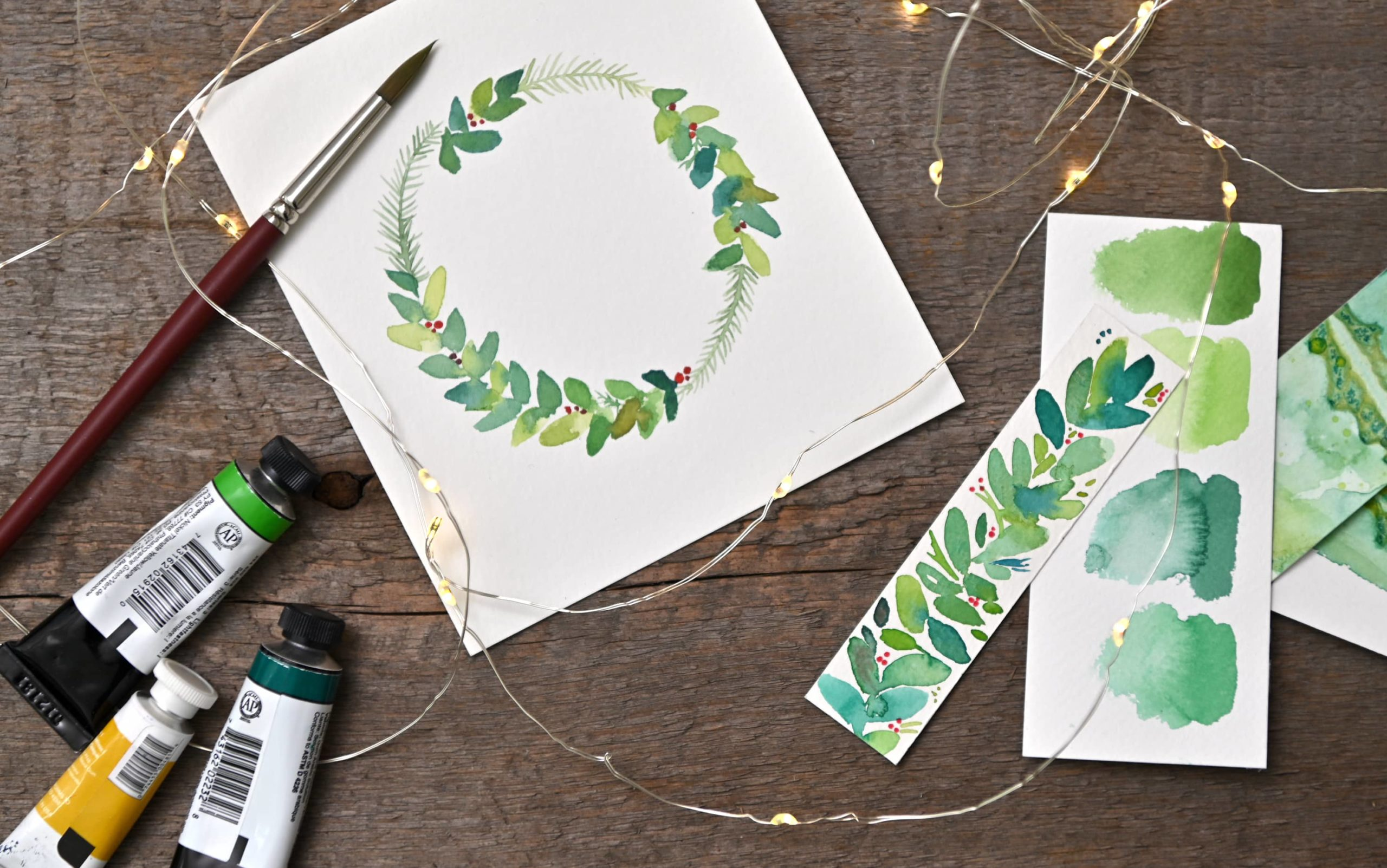 You are currently viewing Winter Botanicals in Watercolour with Nicole Warrington