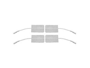 Eletrodo Autoadesivo 3X5cm - 4 un O eletrodo autoadesivo 3x5 cm Carci é de excelente qualidade e não necessita de gel ou fita adesiva para sua fixação. Possui excelente aderência e condutibilidade e proporciona melhor distribuição da corrente no momento da aplicação, permitindo que você realize um trabalho mais preciso. O eletrodo autoadesivo 3x5 cm é reutilizável e mantém as suas características elétricas e mecânicas praticamente inalteradas. Devido á sua flexibilidade permite que seja colocado em regiões não anatômicas sem a necessidade do uso de fitas ou faixas de fixação. Tamanho: 3x5 cm. Instruções para Aplicação, Operação e Remoção do Eletrodo Autoadesivo 3X5cm: A pele deve sempre estar limpa, seca e livre de loções; Não aplique se a pele estiver com feridas; Conecte o cabo de eletroestimulador no eletrodo; Remova o eletrodo do plástico de proteção; Aplique o eletrodo com segurança na pele. Aplique pelo centro e depois suavemente desça, as bordas do eletrodo; Conecte os cabos de conexão ao estimulador. Ligue o estimulador; Ajuste de acordo com as instruções de tratamento; Não excedo 0,1Watt/cm² de intensidade; Quando a sessão estiver encerrada, desligue o estimulador OFF (Desligue o equipamento antes de remover o eletrodo); Levante a borda e remova o eletrodo da pele. Instruções para Cuidado e Armazenamento de Eletrodo Autoadesivo 3X5cm: Mantenha o plástico de proteção para guardar os eletrodos; Desconecte o eletrodo dos cabos de conexão; Armazene os eletrodos em sua embalagem original; Caso os eletrodos percam a aderência, molhe o gel com um pouco de água e esfregue cuidadosamente; Água deve estender o tempo de uso. Caso não, substitua por novos eletrodos; Cuidado: Caso os eletrodos não estejam firmemente aderidos a pele, e aumenta a chance de queimaduras e outras reações adversas. Advertências e Precauções: Consulte o manual do usuário do eletroestimulador. Mantenha os eletrodos fora do alcance de crianças; Os eletrodos são destinados para uso pessoal; NÃO r