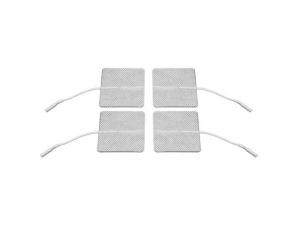 Eletrodo Autoadesivo 5X5cm - 4 Un - Eletroterapia