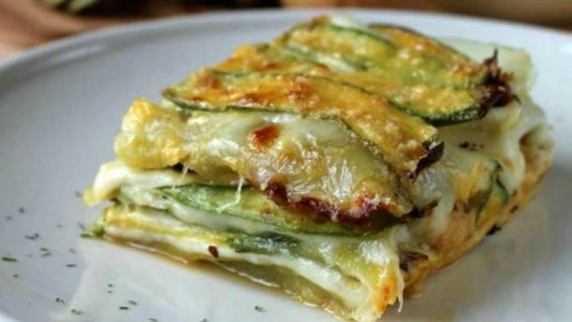 Parmigiana di Zucchine Bianche