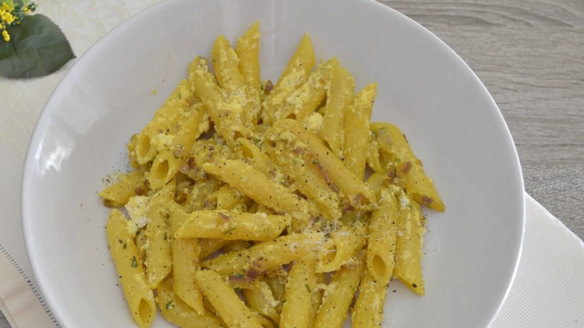 Pasta Ricotta e Zafferano
