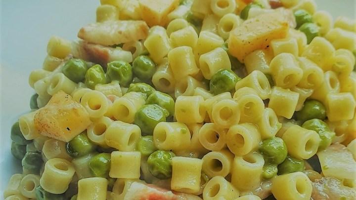 Pasta e piselli alla napoletana