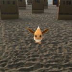 Pokemon goes beach