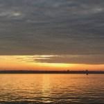 Sonnenuntergang Förde