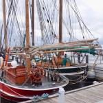 Hafen Laboe - Im April