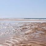 Strand Algarve - Im April