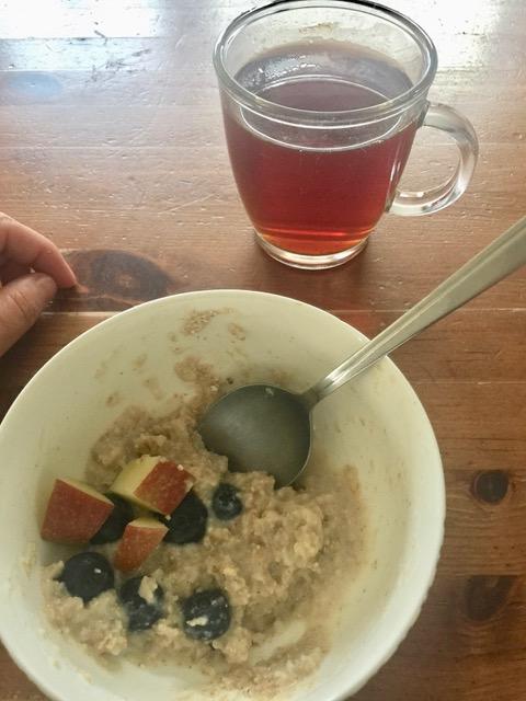 Frühstück #12 von 12 - Juni 2017