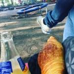Spielplatzpicknick