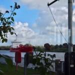 Schiffsbegrüssungsanlage Rendsburg