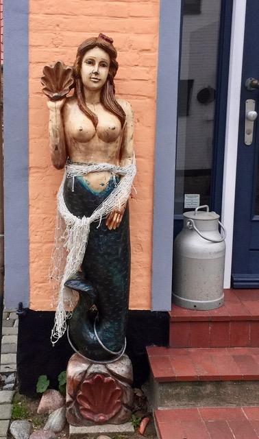 Meerjungfrau in Maasholm - #12von12 im November 2017