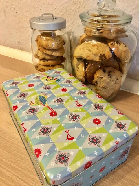 Cookies eingelagert