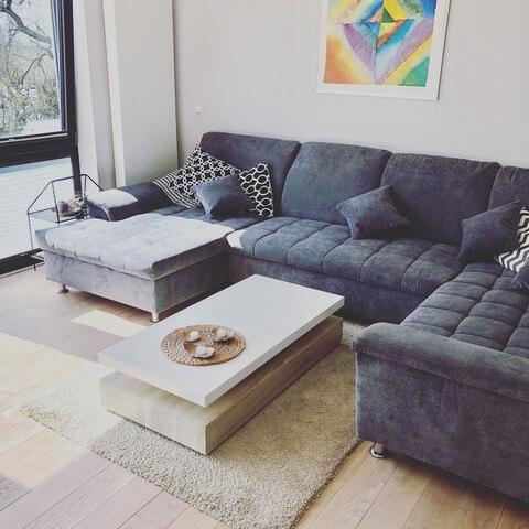 ab auf die Couch