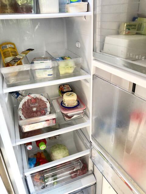 Kühlschrank blitzblank