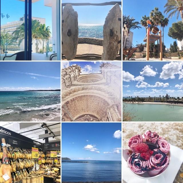 Collage Mallorca 2019