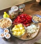 Paprika-Curry, vegetarisch - schnelles Essen