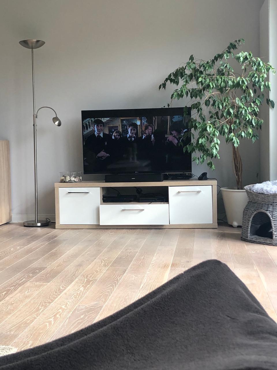 Fernseher mit Harry Potter - #WMDEDGT im Oktober 2019