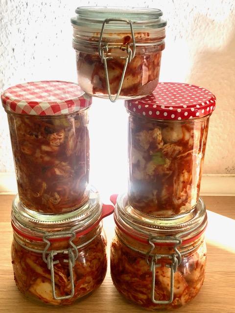 Kimchi - schnelles Essen
