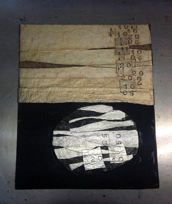 Monogràfic de tècniques additives, Colagraf