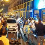 """Luqueños festejan """"caída"""" de Celso Cáceres"""