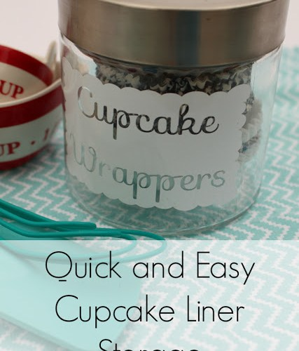 Organized: Storing Cupcake Liners