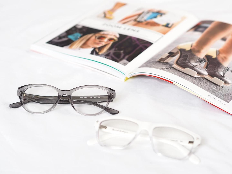 6326c866cef clear frame glasses on fashion blog ...