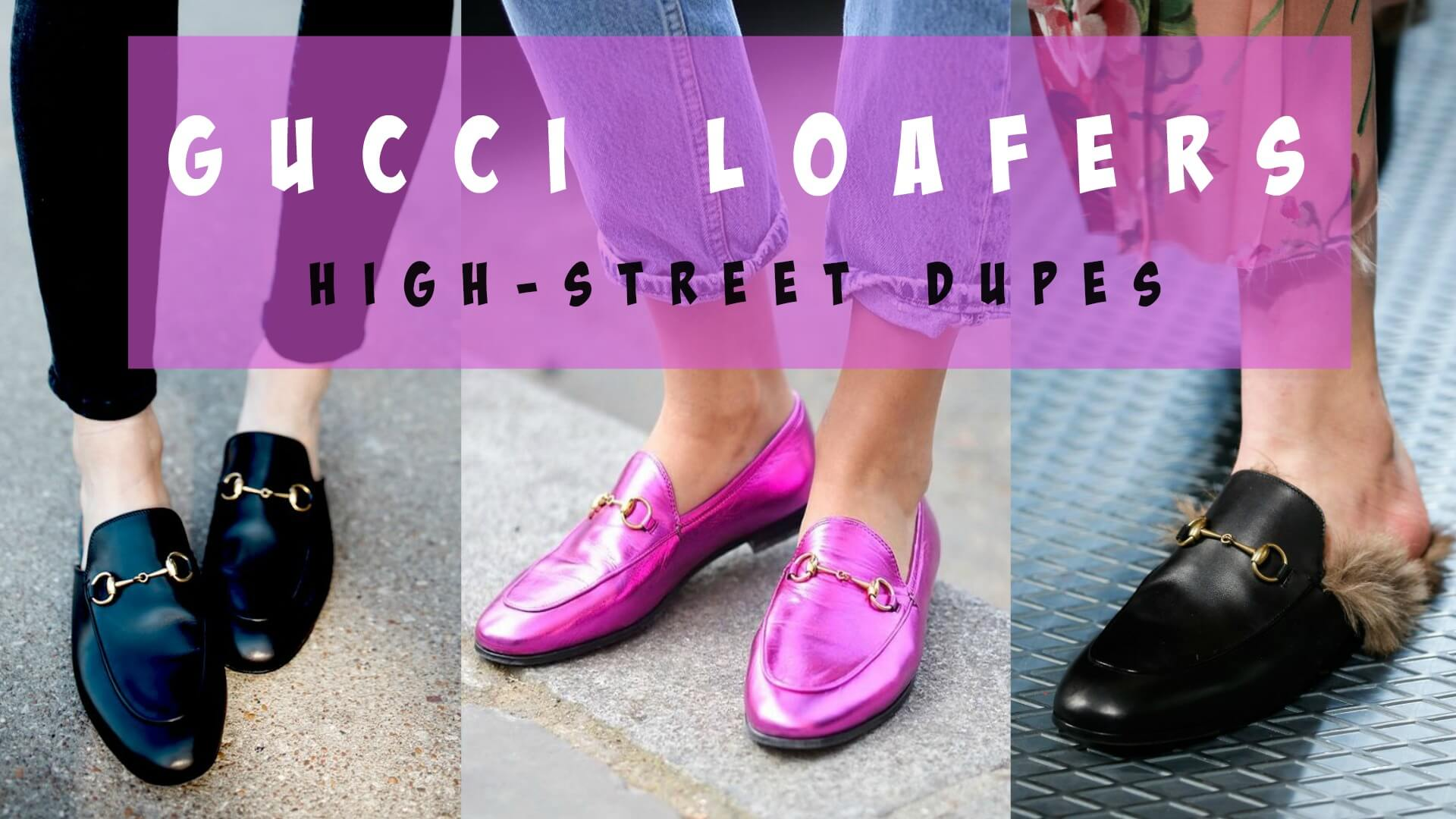 4a22f0234fc Gucci loafer dupes on the high street for £62 and under!