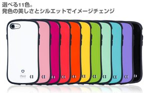 iPhone7 ケース 耐衝撃 カバー iFace First Class ストラップホール付き 正規品 / レッド