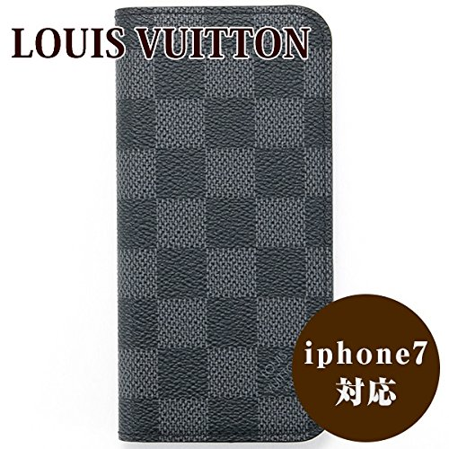 iPhone8/iPhone8 Plus/iPhone7/7 Plus対応 ルイヴィトン ルイ・ヴィトン LOUIS VUITTON IPHONE7・フォリオ iphone7ケース スマホケース ダミエ・グラフィット N61067