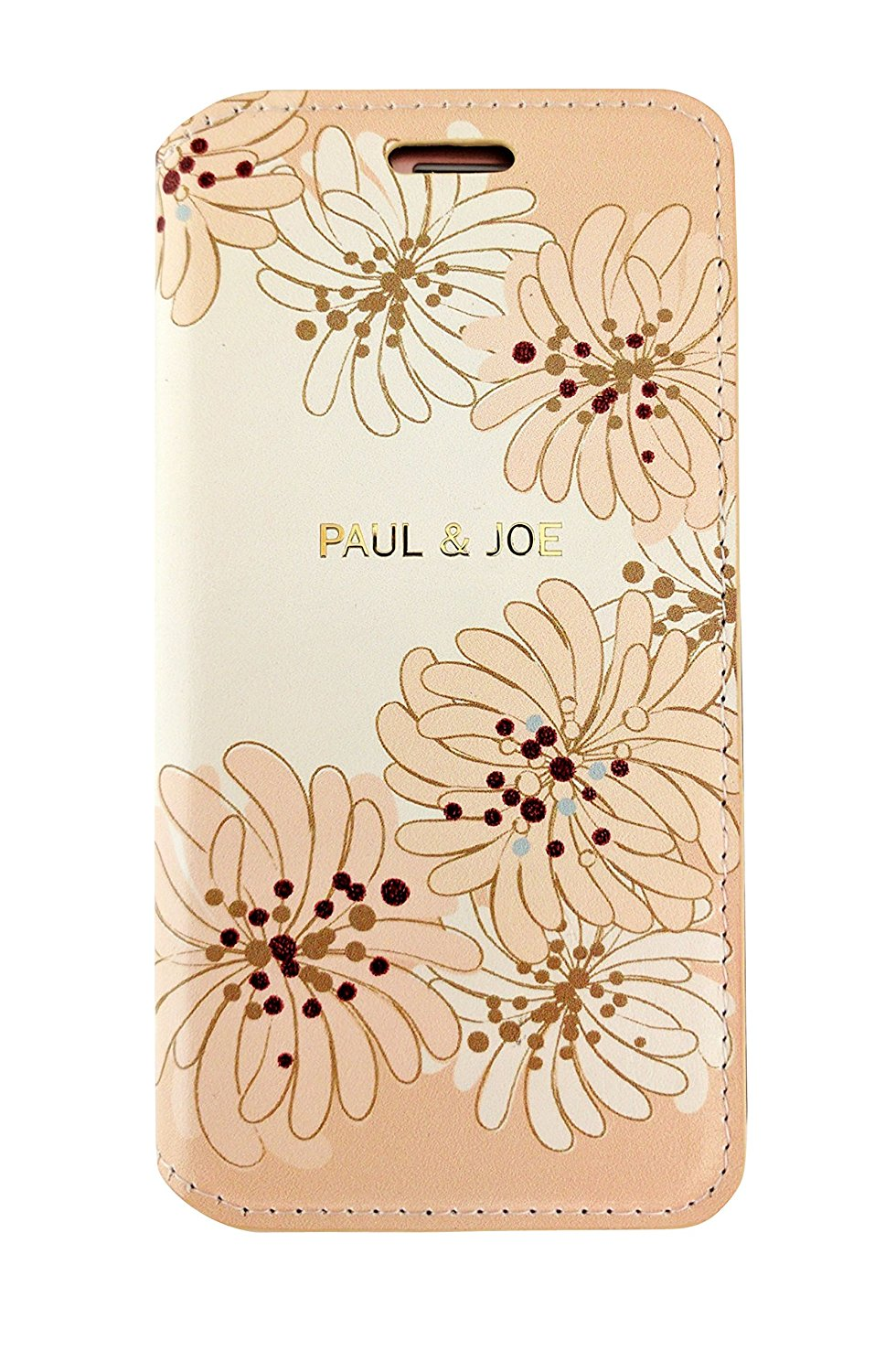 iPhone8/iPhone8 Plus/iPhone7/7 Plus対応 エアージェイ ポールアンドジョー (PAUL and JOE)PU 手帳型 Chrysantheum PJI7LBOOK_FLN