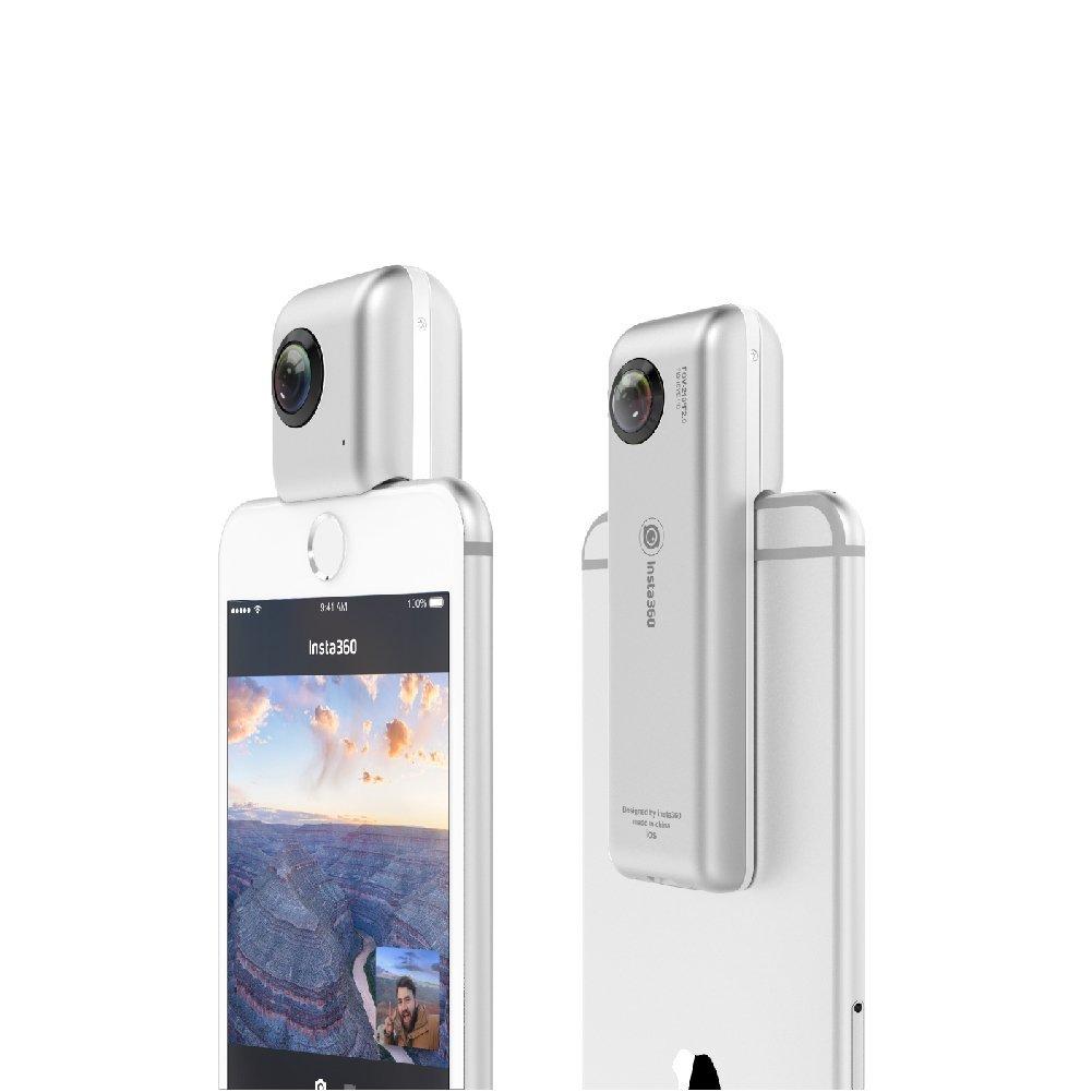 【日本正規代理店品】Insta360 Nano 360°全方位パノラマ式カメラ iPhone専用全天球カメラ 360°写真や動画を撮影/編集/シェア/VR体験 INSTA360 NANO