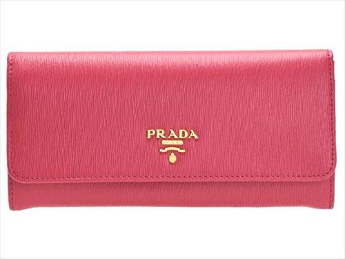 (プラダ) PRADA 財布 長財布 二つ折り レザー 1MH132 アウトレット