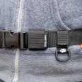 【神アイデア】ウエストベルト式ライフジャケットのベルトの余りを収納&有効活用できる「ベルトストッパー(34)」が素晴らしい発想すぎて感動的!