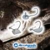 チヌ(クロダイ)キビレゲームにオススメのアルカジックジャパンのジグヘッド3種を詳しく解説