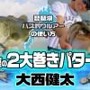 琵琶湖バス釣りルアーの使い方【初夏】大西健太の2大巻きハメパターン【ワンズバグとジャックハンマー】