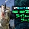 【関西波止釣り場REPORT】大阪・南港「セル石のデイシーバスゲーム」