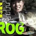 伊藤巧がバス釣りで超多用しているノリーズのフロッグ4種を紹介