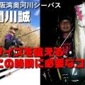 【寄稿by関川誠】大阪湾奥河川のシーバス。狙ってサイズを出せるこの時期に必要な条件