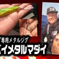 【紅牙ベイメタルマダイ】タイジギング専用NEWメタルジグがダイワから登場