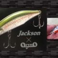 渓流用フラットサイドミノー「メテオーラ52-63」が登場【ハンドメルアー・オライノとジャクソンのコラボもの】