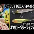 バークレイの注目ルアー「3″ホローベリーフィンテール」&「スパイベイト55SS」を北山睦さんに直撃!