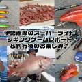 伊勢志摩のスーパーライトジギングゲームレポート&釣行後のお楽しみ♪