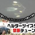 へルターツイスター の禁断チューンを紹介! 大量ブレードプラスチューンで小魚の群れを演出